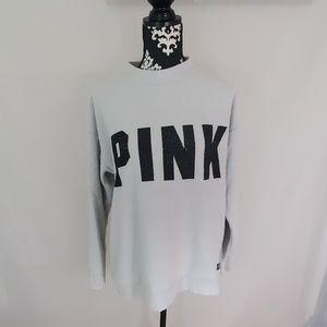 Pink by VS pullover sweatshirt Medium